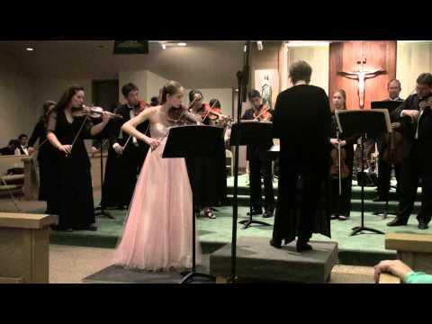 Geneva Lewis - Vivaldi's Four Seasons (Spring)