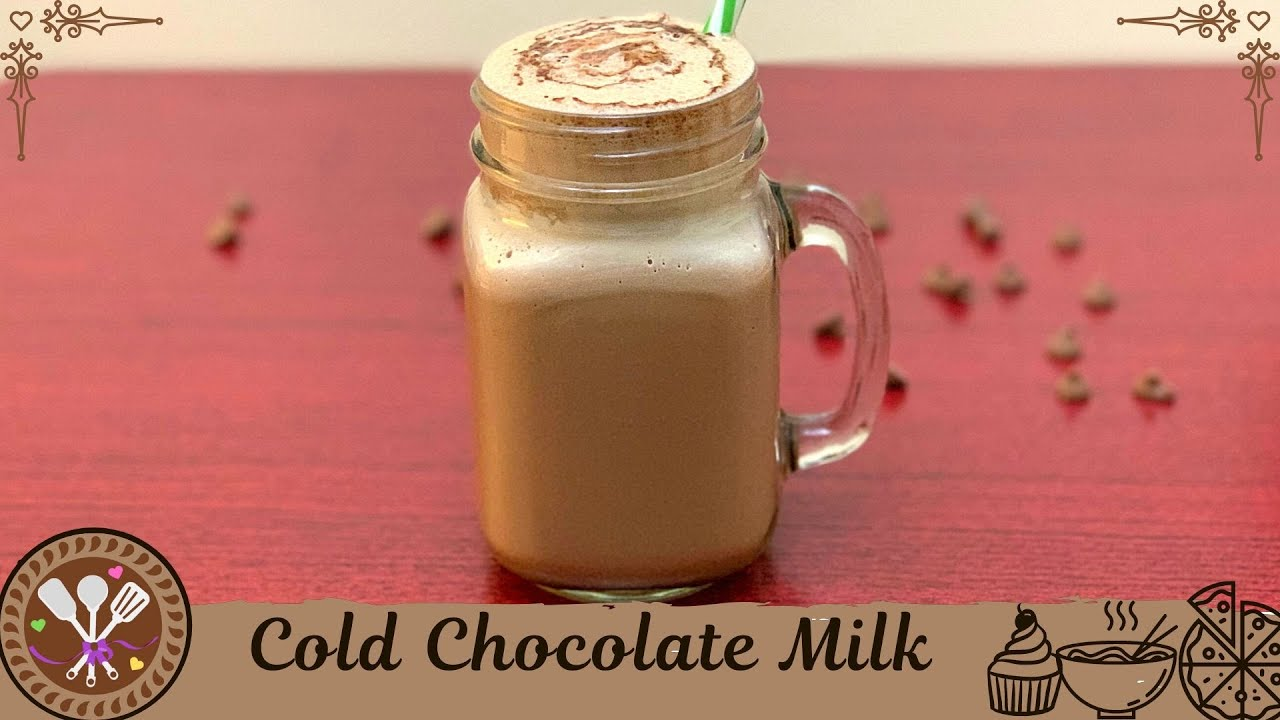 Cold Chocolate Milk Recipe in Tamil / How to make ...