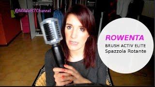 Video Review Rowenta Spazzola Rotante  CF9022 BRUSH ACTIV ELITE  download MP3, 3GP, MP4, WEBM, AVI, FLV Desember 2017