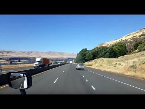 BigRigTravels LIVE! Portland to Biggs Junction, Oregon OR 224, I-205, I-84-July 9, 2018