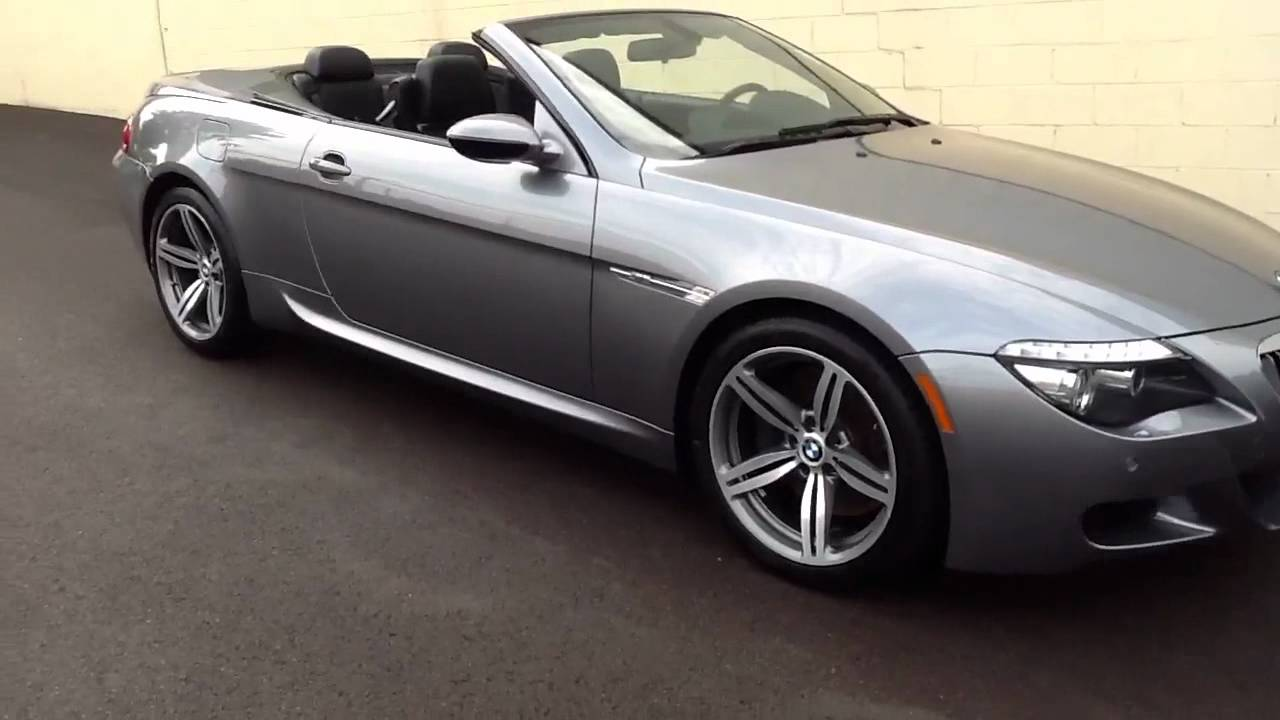 2009 bmw m6 convertible for sale in pennsylvania youtube. Black Bedroom Furniture Sets. Home Design Ideas
