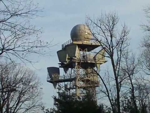 Old At T Long Lines Microwave Tower
