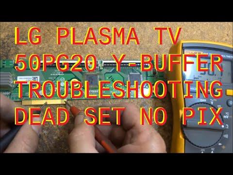 LG 50PG20 Y Buffer troubleshooting