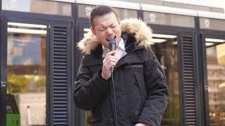 chiaki「Thinking Out Loud (Ed Sheeran)」2019/01/27 大阪タカシマヤ前 電話ボックス