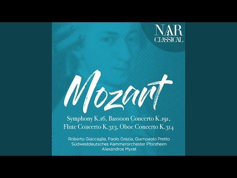 Oboe Concerto In C Major, K. 314: I. Allegro Aperto
