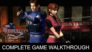 Resident Evil 2 Complete Game Walkthrough Full Game Story (1080p 60 FPS)