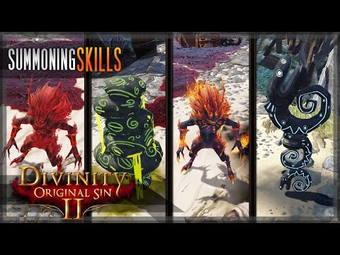 Summoning Skills  ConjurerSummoner  ALL lesser IncarnatesTotem types