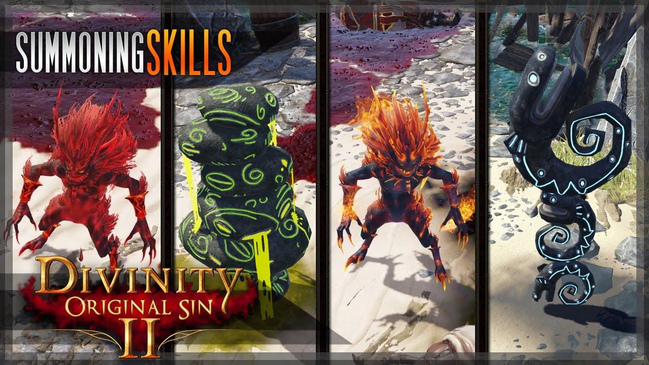 Summoning Skills - Conjurer/Summoner - ALL lesser Incarnates/Totem types