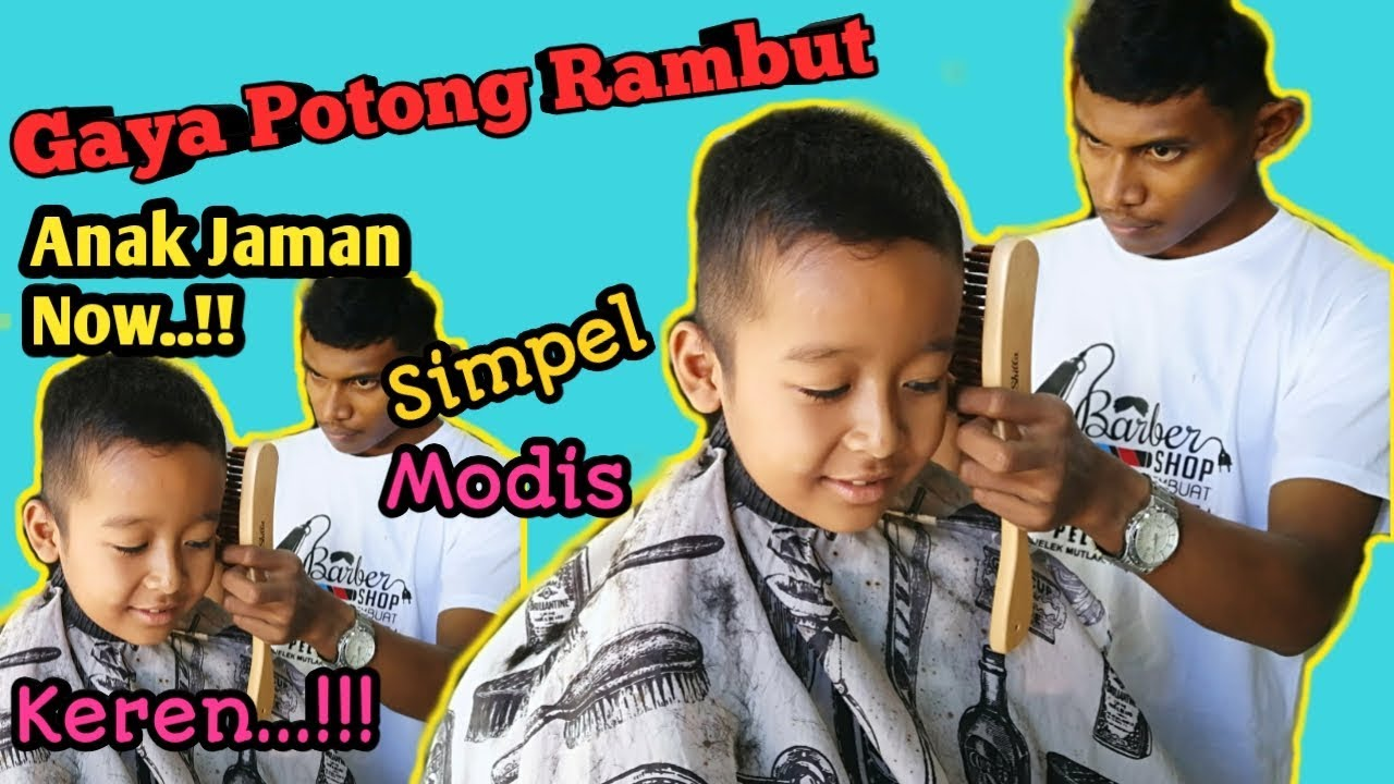Gaya Potong Rambut Anak Jaman Now | Kekinian - YouTube