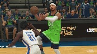 NBA 2K18 My Career - Thunder Up 15! SFG2 PS4 Pro 4K Gameplay