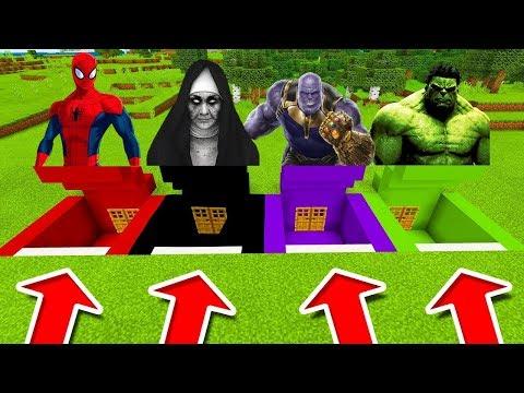 NEVYBER SI ŠPATNÉ DVEŘE OD BUNKRU! (Spiderman, The Nun, Thanos, Hulk) thumbnail