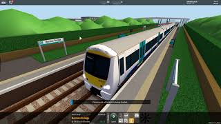 cool video on train ride (roblox)