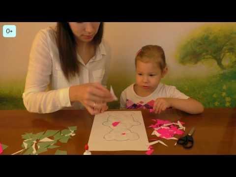 054 Развиваем мелкую моторику при помощи аппликаций Netyasama Развивающие игры для детей