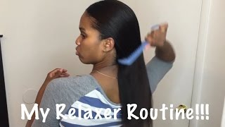 My at home Relaxer Routine!!