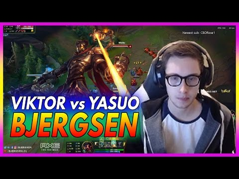 419. Bjergsen Viktor vs Yasuo Mid - March 7th, 2017 - Patch