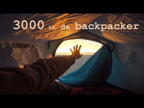 3000 km • da backpacker
