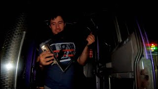 Locked out of my semi truck #53 rookie vlogs