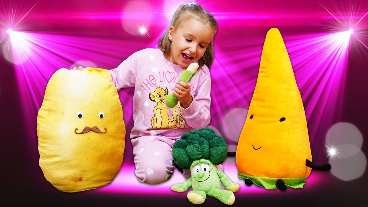 Детская песня про суп - Учим овощи! Сборник песенок для детей как кукутики