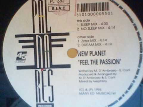 NEW PLANET - Feel The Passion (Zzzzz Mix)