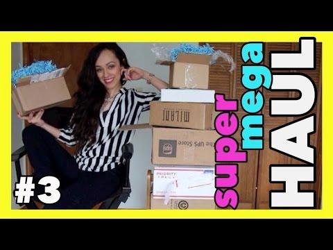 Demasiado Maquillaje, Ropa, Accesorios y MAS! | SUPER MEGA HAUL 3!