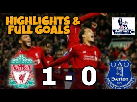 Download Liverpool vs Everton 1-0 Highlights Full goals (2-12-2018)