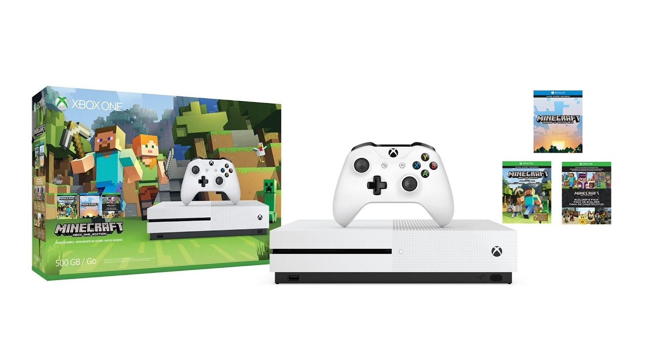 10 Reasons Minecraft is GREAT on Xbox One S  Minecraft Favourites Bundle 10K