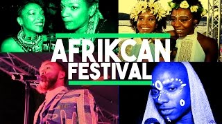 JIDENNA, LES NUBIANS, YOUNG PARIS LIVE AT AFRIKCAN FESITVAL : The Nne and IKe Show
