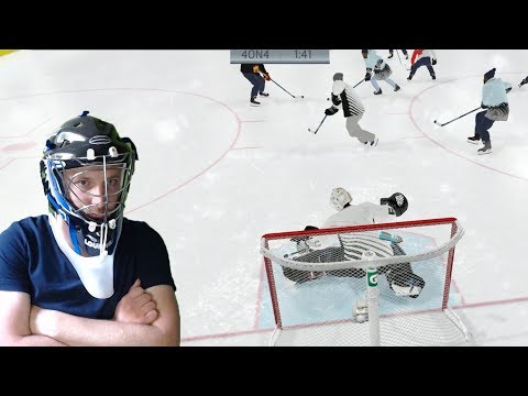 Let's Play NHL 19 Beta ep 3: Our First EASHL Match as a Goalie!