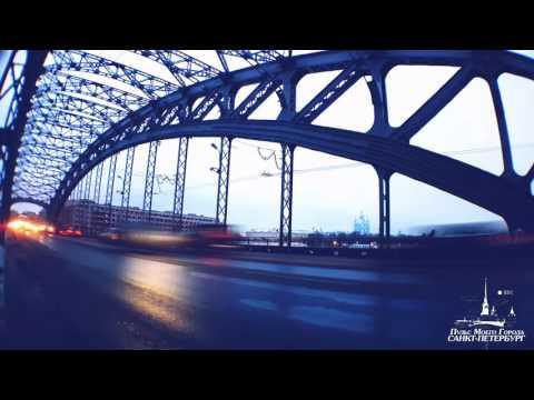 САМЫЙ КРАСИВЫЙ МОСТ В САНКТ-ПЕТЕРБУРГЕ. Большеохтинский мост. 4K