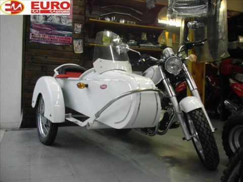 Euro Motors 250 retro with sidecar