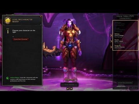 видео: Мгновенное повышение уровня персонажа в world of warcraft до 90