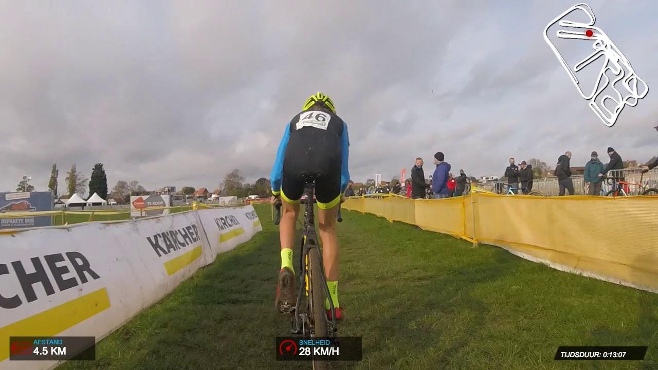 Cyclocross Superprestige Ruddervoorde 2020 Juniors