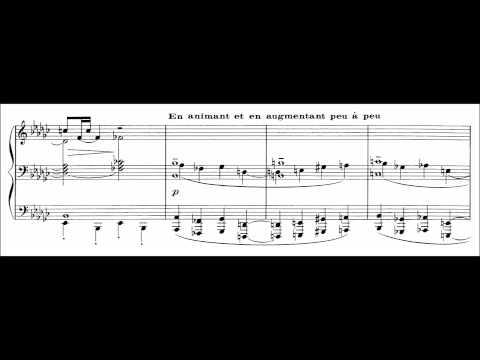 Claude Debussy - Berceuse heroique (audio + sheet music)