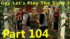 Gay Let's Play Sims 3 - Part 104 Gnome Photo Bomb