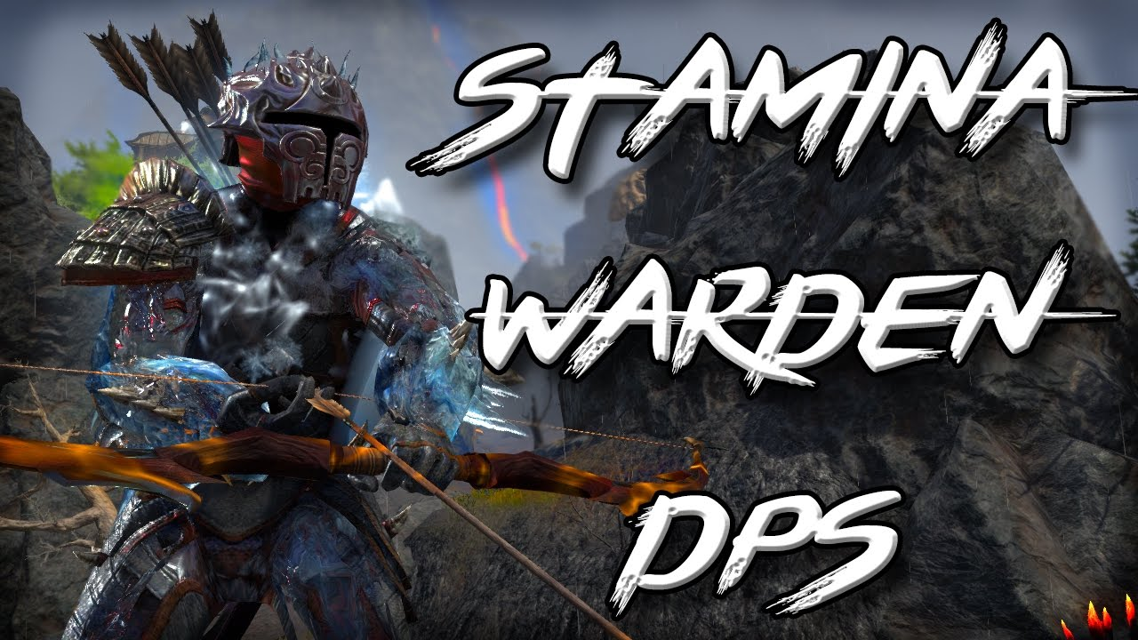 Elder Scrolls Online Stamina Warden Build