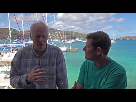 On board the Jeanneau 64 with Gary Jobson