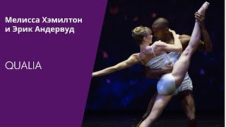 Gambar cover Qualia by Wayne McGregor (Melissa Hamilton and Eric Underwood)