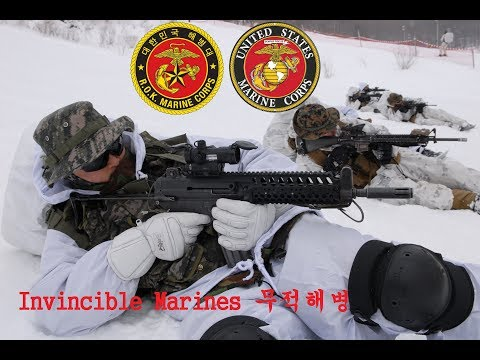 Republic of Korea Marine Corps feat. USMC (Invincible Marines 무적해병)