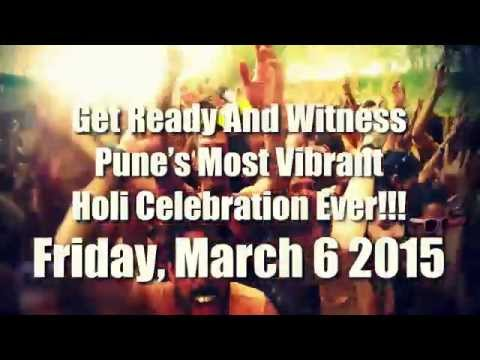 Holi Colour Fest 2015 - Pune