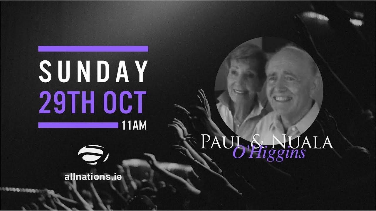 Paul & Nuala O'Higgans 29 October 2017