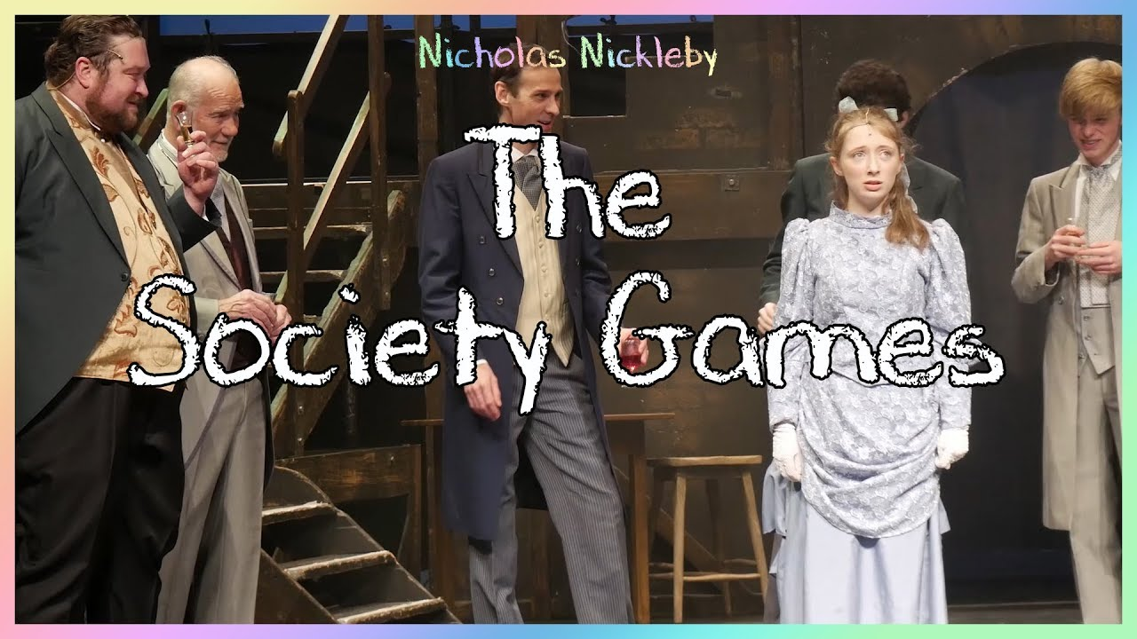 Download Nicholas Nickleby - The Society Game (Performed by Chesterfield Operatic Society)