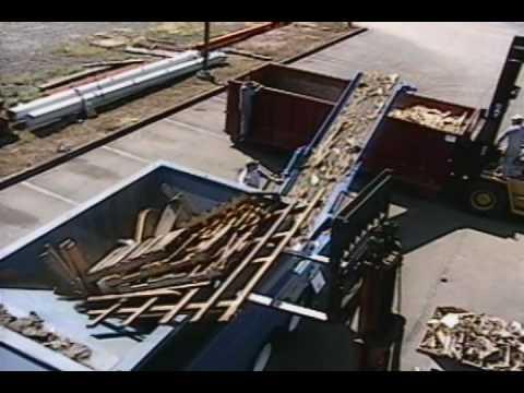 Wood Shredding Scrap Wood Amp Pallets P Youtube