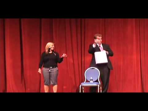 Bag and Balls routine at Nathan Burton's Comedy Magic Show at the Flamingo in Las Vegas.mp4