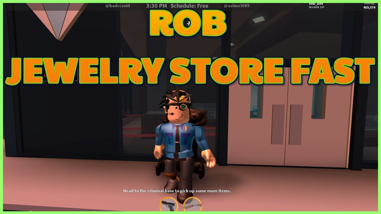 Roblox jailbreak how to rob jewelry store fast without for How do you rob the jewelry store in jailbreak
