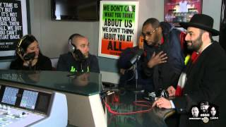 Ebro confronts detective about NYPD issues & MLK march in Queens