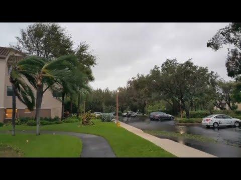 "Hurricane Irma ""intermission"" Coconut Creek, Florida"