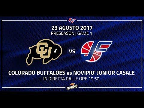 [Preseason 2017] Novipiù Junior Casale - Colorado Buffaloes