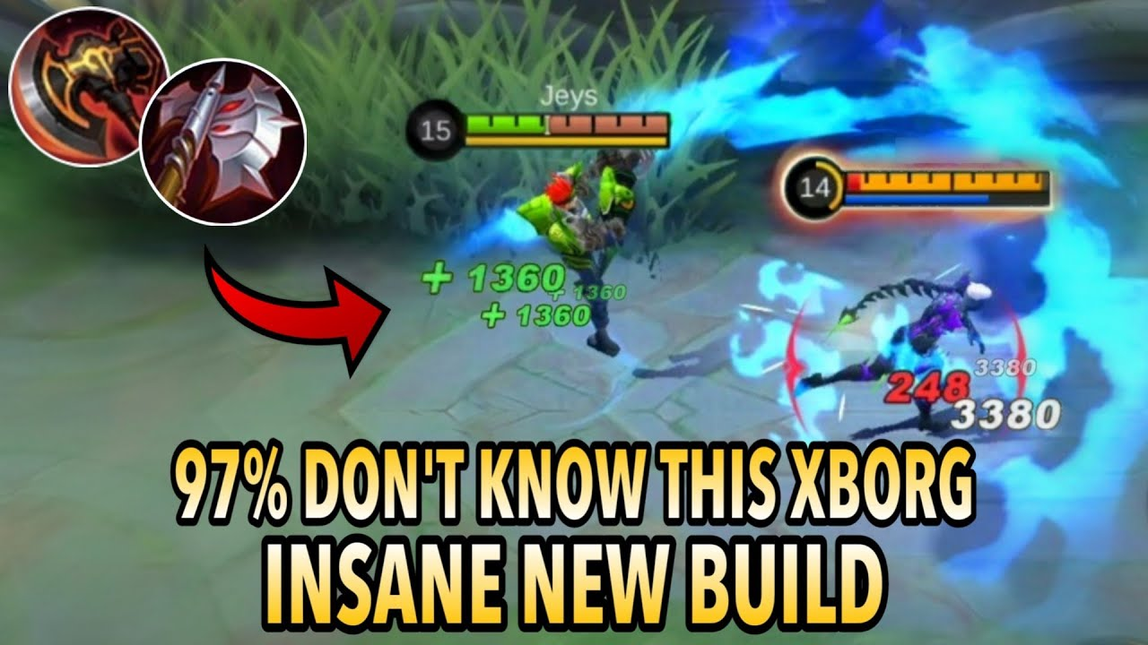Download THIS IS INSANE!! | XBorg Best Build for 2021 | Buffed XBorg Build and Gameplay - Mobile Legends