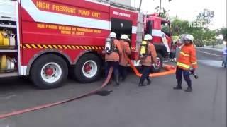 SELALU SIAGA - Gladi Kebakaran Mall Senayan City Jakarta Indonesia