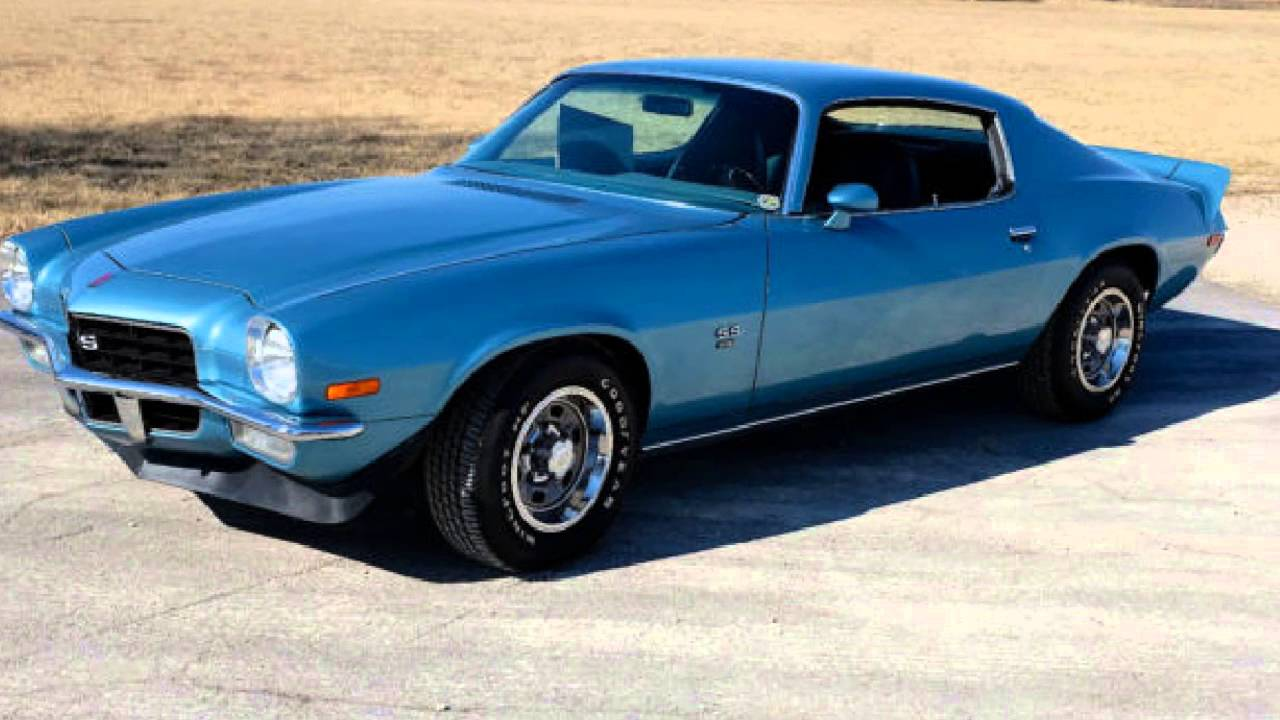 1972 Chevrolet Camaro Ss 396 Youtube